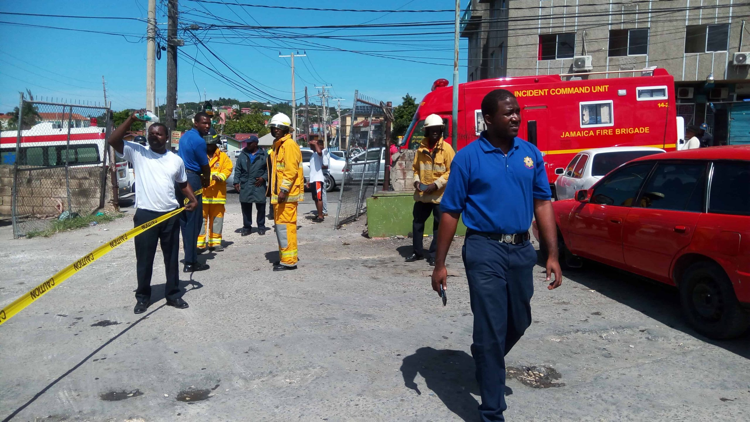 ST JAMES FIRE DIVISION HOST ANNUAL FIRE AWARENESS WEEK