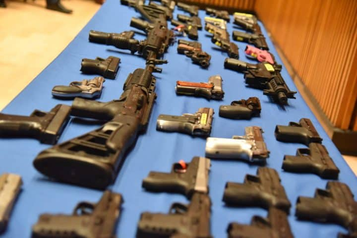 Illegal Guns Seized