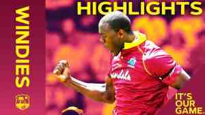 Impressive Windies Rip Into England | Windies vs England 5th ODI 2019 – Highlights