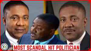 Jamaica's MOST SCANDAL hit POLITICIAN ever