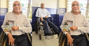 Crippled Jamaican Man with 2 Job inspires others