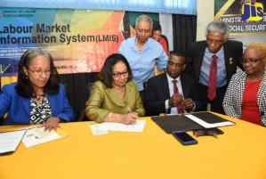 Labour Ministry and MICO Sign MOU