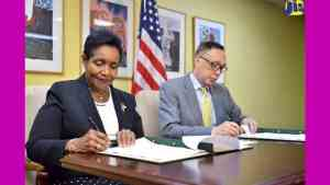 Jamaica and United States Sign MOU to Combat Child Trafficking
