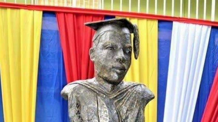 Controversial Marcus Garvey Bust