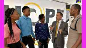 HOPE Partners with JCF to Provide Opportunities for Unattached Youth
