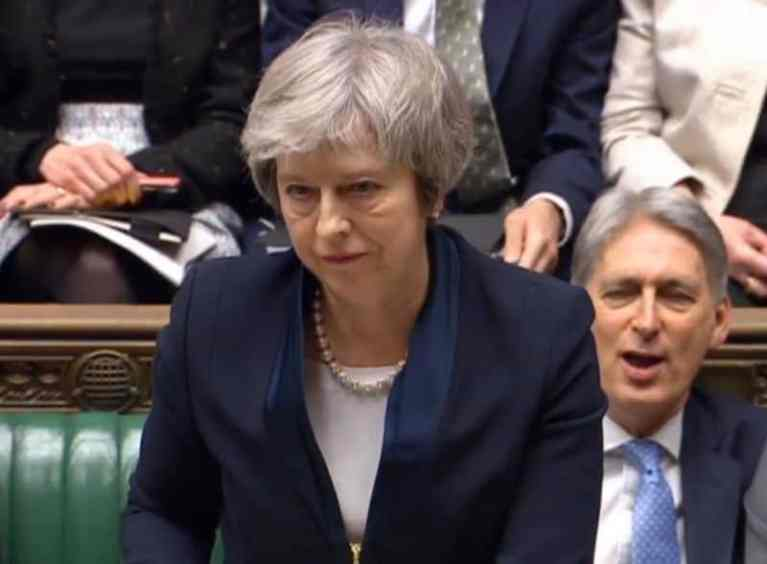 May Faces Confidence Vote After Humiliating Brexit Defeat