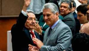 Miguel Diaz-Canel replaces Raul Castro as Cuba's president