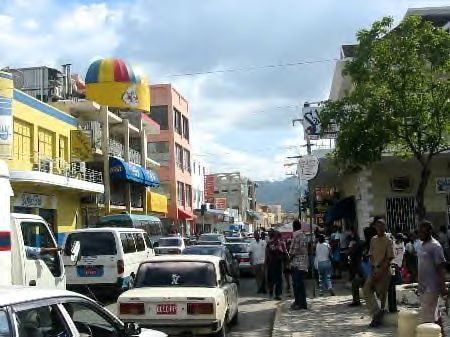 Downtown Montego Bay