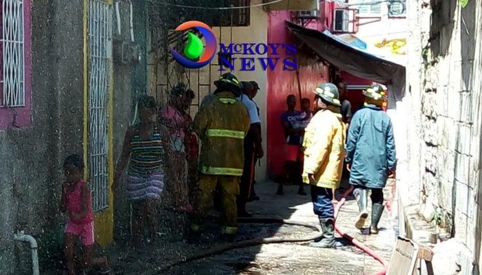 Fire Destroy Montego Bay Building