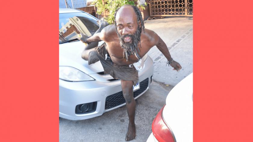 Popular Montego Bay street dancer