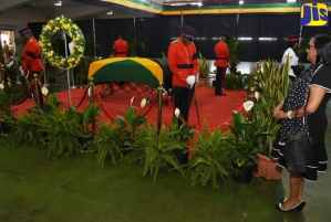 Jamaicans Pay Respects at Final Lying-In-State for Edward Seaga