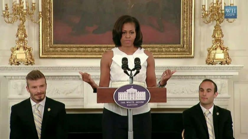 Michelle Obama Makes First Public Appearance In Months