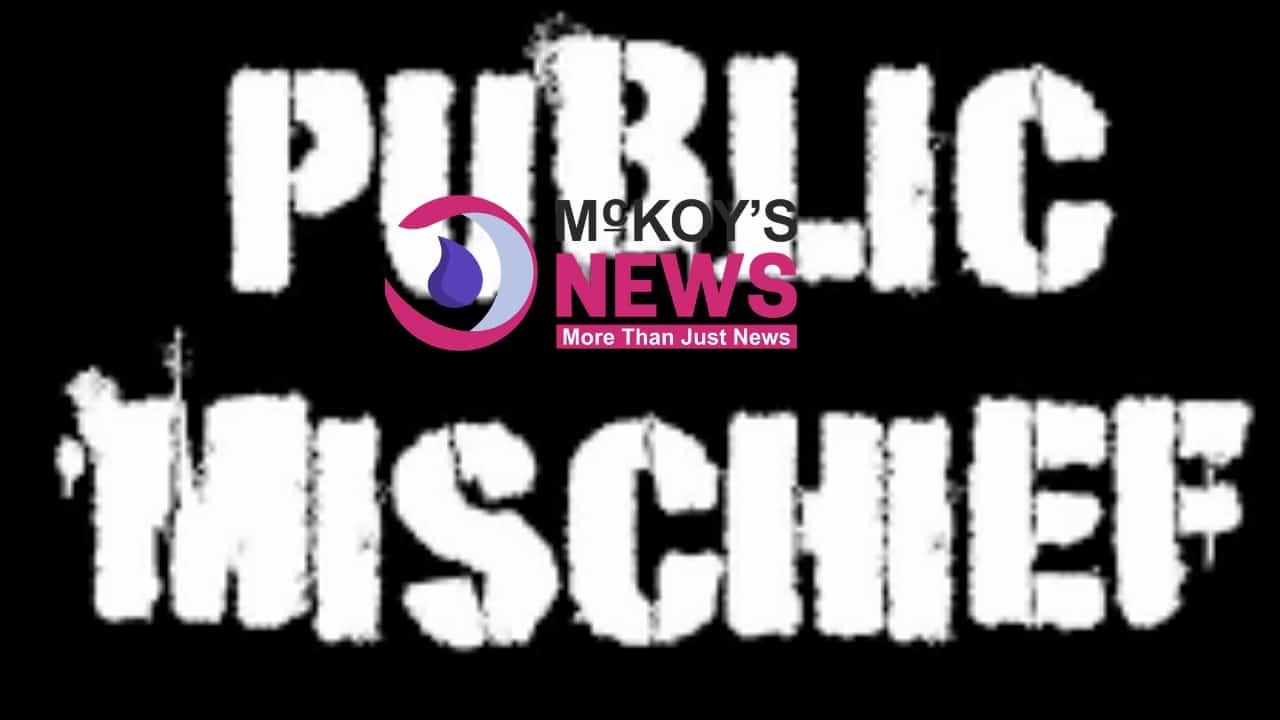 TRIAL SET FOR MAN ACCUSED OF PUBLIC MISCHIEF