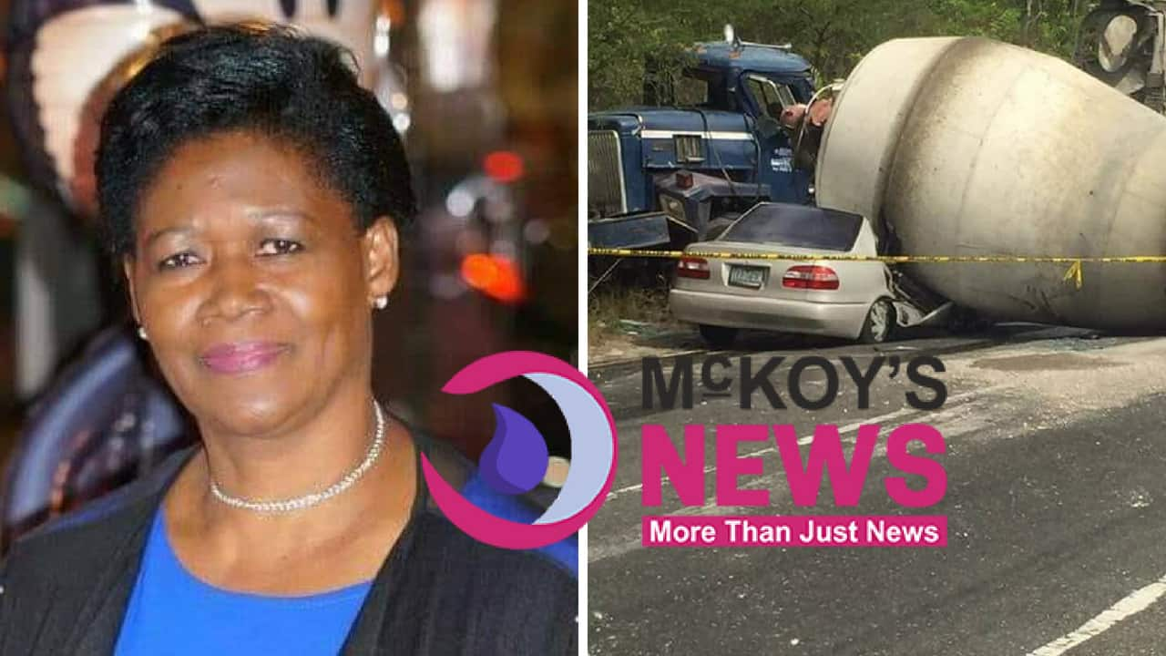Paulette Mullings Killed In Gruesome Crash Along Spur Tree Main Road