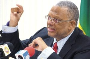 People's National Party Leader Peter Phillips