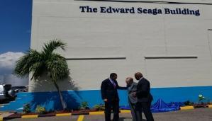 Petrojam Building Renamed Edward Seaga Building