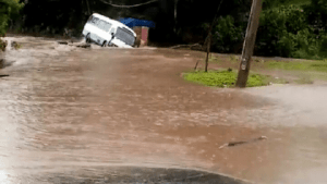 Heavy Rains Lashed Portland