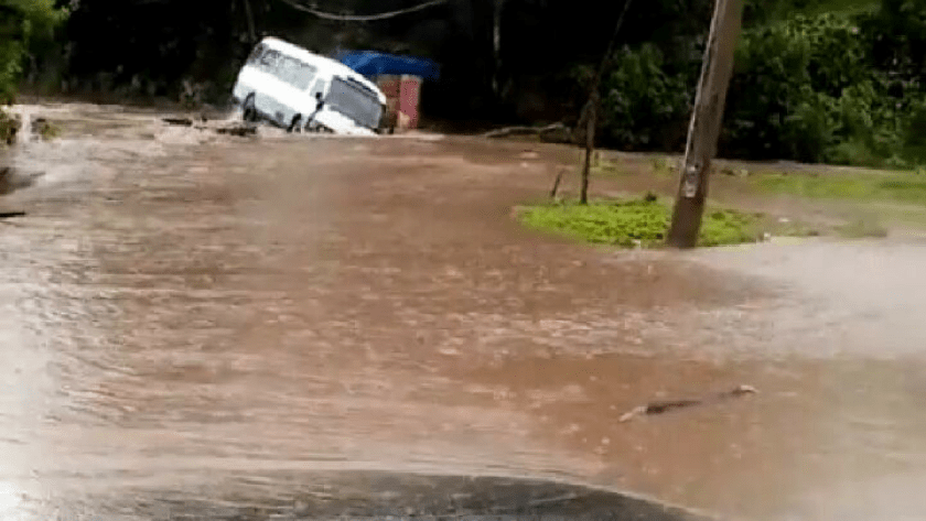 Heavy Rains Lashed Portland