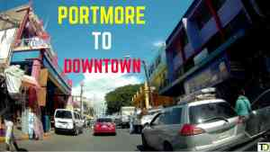 Portmore to Downtown Kingston