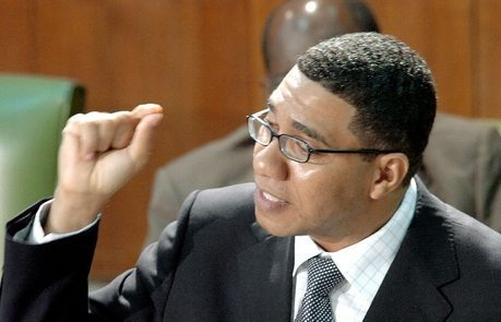 Jamaican Prime Minister Andrew Holness on IMF