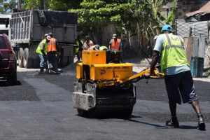 Railway Lane Repaired by St. James Municipal Road Repair Program