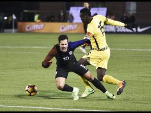 Reggae Boys suffered a one nil loss to giants United States