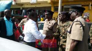 National Security Minister, Robert Montague Tours Montego Bay Inner City