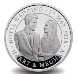 Royal wedding coin released to celebrate Prince Harry and Meghan Markle