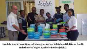 Sandals Foundation Makes First Delivery of Reusable Lunch Containers