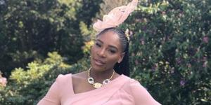Serena Williams Wears Pink for Royal Wedding