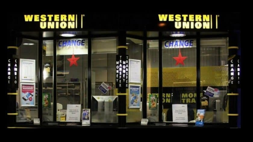 Six Western Union Branches Closed