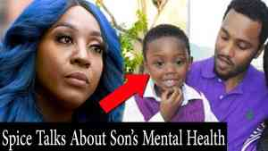 Spice Blames Her Baby Father For Son's Mental Health