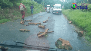 Major Protests In St James Over Poor Road Conditions