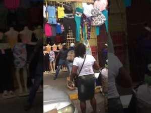 Street Fight Downtown Kingston