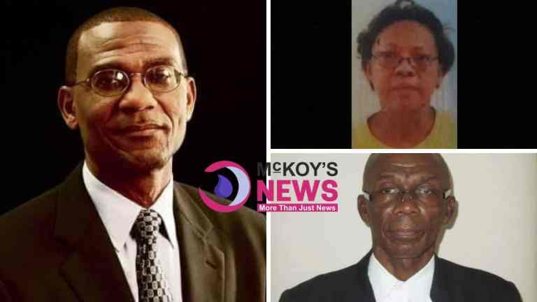 ( Three The Hard Way)... Top Politician, Medical Doctor and Attorney-At-Law, Found Dead Across Jamaica in Three Days