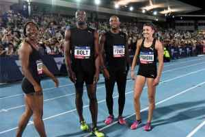 Usain Bolt's All-Stars win second Nitro Athletics event