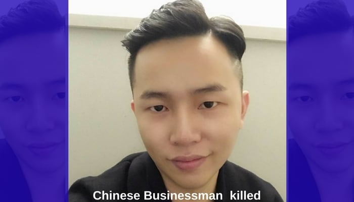 Chinese businessman Teng Fei Cheng