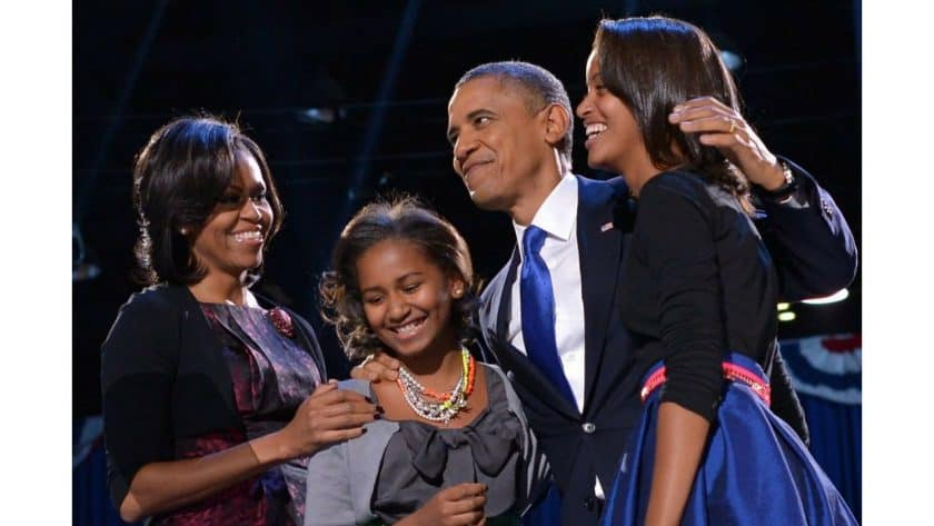 How The Obamas Taught Us Family Values