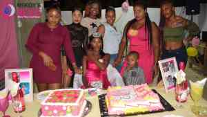 Pink Baby Shower for Thickara Johnson