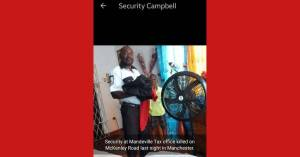 Mandeville Tax office Security killed