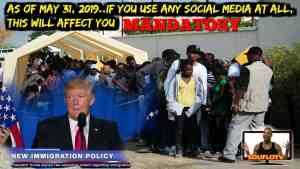 USA immigration MANDATORY change effective MAY 31, 2019