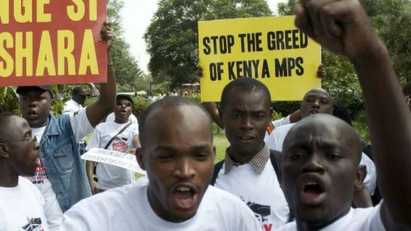 Kenyan MPs to get 15% Pay Cut: