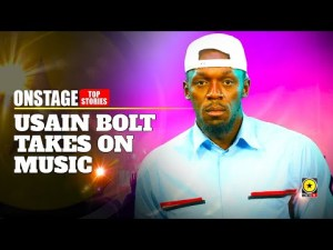 Usain Bolt Takes On Music But Finds It's Quite A Challenge