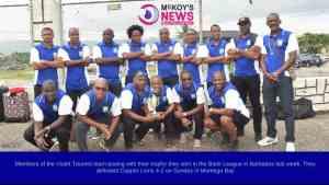 Violet Tourers defeated Copper Lions 4-2