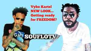 Vybz Kartel ready for freedom with New Look