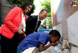 Iris Gelly Primary Gets Rainwater Harvesting System