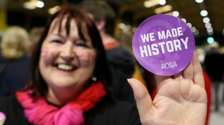 abortion rights groups in Ireland