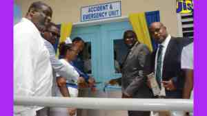 Additional Space for Accident and Emergency Unit at Cornwall Regional Hospital