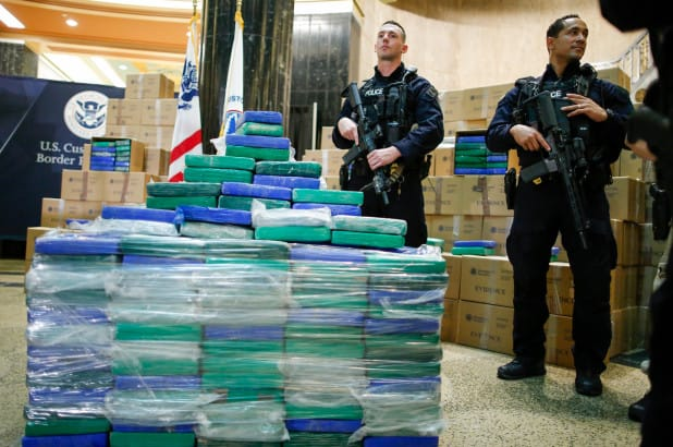 Enormous haul of cocaine seized in Philly totals nearly 20 tons
