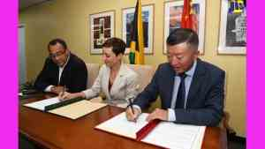 Jamaica Receives US$36 Million from China to Build Western Children's Hospital